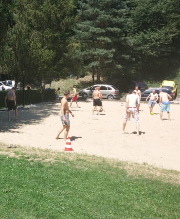 plážový futbal